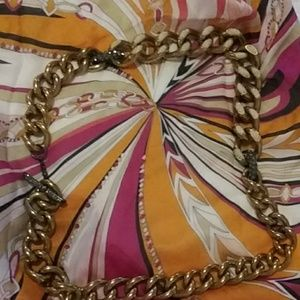 Authentic Lanvin belt or rope chain